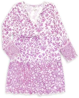 HEMANT AND NANDITA Girl's Floral Dress