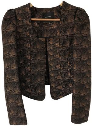 Maison Scotch Black Glitter Jacket for Women