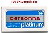 Personna 100 Israeli Stainless Steel Double Edge Blades- Safety Razor - Double Edge Razor Blades Razor Blades