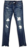 Blank NYC Girl's Charmed Distressed Denims