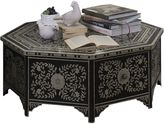 Phil Bee Interiors Coffee Tables Bone Inlay Round Coffee Table