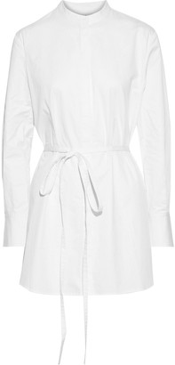 Co Belted Cotton-poplin Tunic