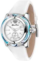 Glam Rock Women's Palm Beach 40mm Leather Band Steel Case Swiss Quartz Analog Watch GR40501