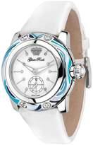 Glam Rock Women's Palm Beach 40mm Leather Band Swiss Quartz Watch Gr40501