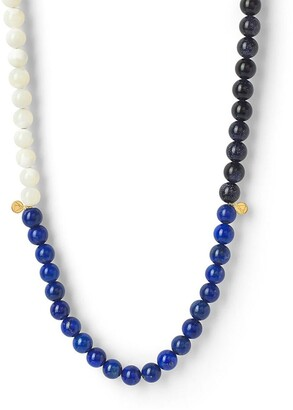 THE ALKEMISTRY Colour-Block Beaded Necklace