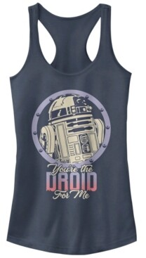 Fifth Sun Star Wars R2-D2 Droid For Me Valentine's Ideal Racer Back Tank