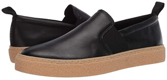 Calvin Klein Emmett (Black/Small Grain Leather) Men's Shoes