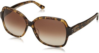 Juicy Couture Women's Ju 592/s Square Sunglasses KHAKMLKHV 57 mm