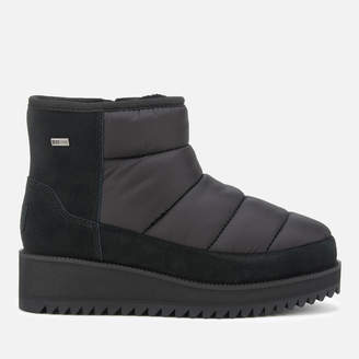 UGG Women's Ridge Mini Quilted Boots - Black