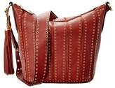 MICHAEL Michael Kors Brooklyn Medium Leather Feed Bag.