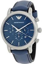 Giorgio Armani Emporio Luigi AR1969 Men's Stainless Steel Chronograph Watch
