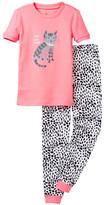 Petit Lem I Heart Cat Naps Pajama - 2-Piece Set (Toddler & Little Girls)