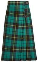 Gucci Tartan wool skirt