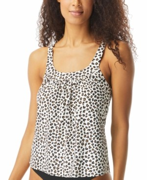 CoCo Reef Ultra Fit Printed Underwire Tankini Top Women's Swimsuit