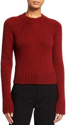 Vince Shrunken Mock-Neck Sweater