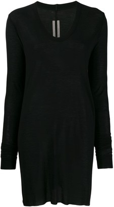Rick Owens Frayed Edge Knitted Top