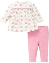 Offspring Pink Elephant Tunic & Leggings Set