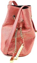 Halston Mini Bucket Handbag