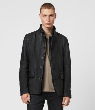 AllSaints Gasper Leather Blazer