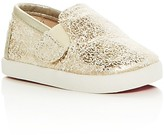 Toms Girls' Avalon Metallic Sneakers - Baby, Walker