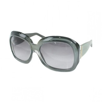 Marni Green Plastic Sunglasses