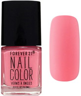 Forever 21 Neon Pink Nail Polish