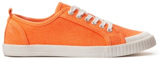 La Redoute Collections Coloured Canvas Trainers