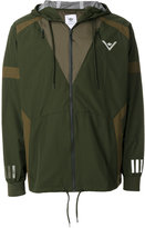adidas block panel hooded jacket