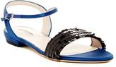 Giorgio Armani Sequin Ankle Strap Sandal