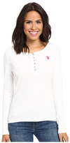 U.S. Polo Assn. Bling Henley