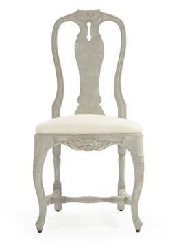 Zentique Kate Side Chair Upholstery Color: Cream