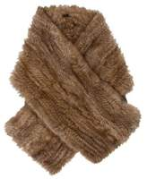 J. Mendel Knitted Fox Fur Stole