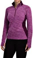 Columbia Optic Got It Shirt - Zip Neck, Long Sleeve (For Women)