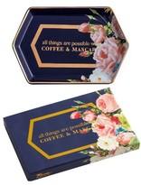 Rosanna Coffee & Mascara Decorative Tray