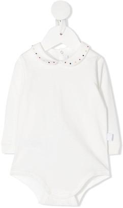 Il Gufo Dotted-Collar Cotton Body