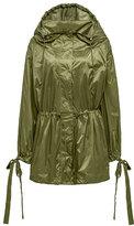 FENTY® PUMA® by Rihanna Tie-Cuff Drawstring Parachute Jacket, Green