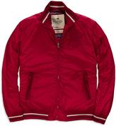 Timeout Dark Red Bomber Jacket