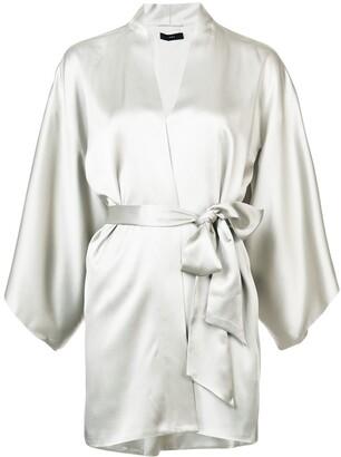 Voz Tie-Waist Kimono Top