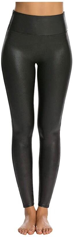 Spanx Faux Leather Leggings Women's Casual Pants