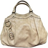 Gucci Sukey Beige Leather Handbags