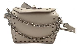 Alexander McQueen Box 16 White Leather Handbags