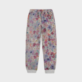 Paul Smith Girls' 7+ Years Floral Cotton 'Marva' Sweatpants