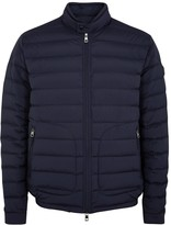 Moncler Acorus Navy Quilted Shell Jacket
