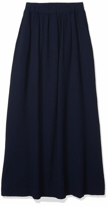 Three Dots Women's Double Gauze HIGH Waisted Skirt