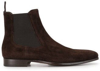 Magnanni Narrow-Toe Ankle Boots