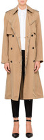 Alexander Wang Slouchy Trench With Piercing Detail