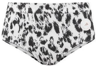 adidas by Stella McCartney Truepurpose Recycled Fibre-blend Bikini Briefs - Animal