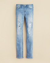 Hudson Girls' Distressed Dolly Skinny Jeans - Sizes 2-6X