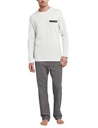 Schiesser Men's Schlafanzug Lang Pyjama Sets,(Size: 058)