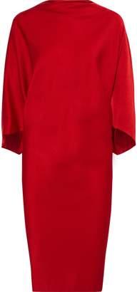 Chalayan Pure Draped Satin-crepe Dress
